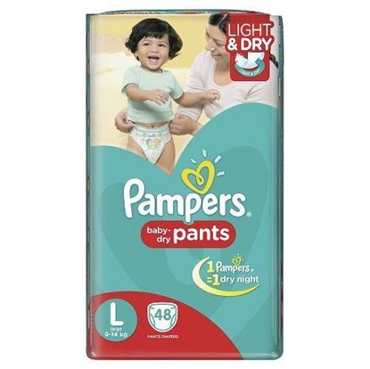 PAMPERS PANTS LARGE 48PCS