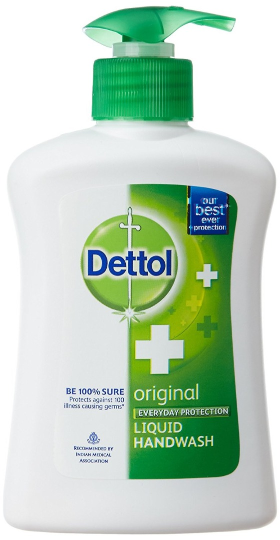 Dettol Original Liquid Hand Wash 185ml