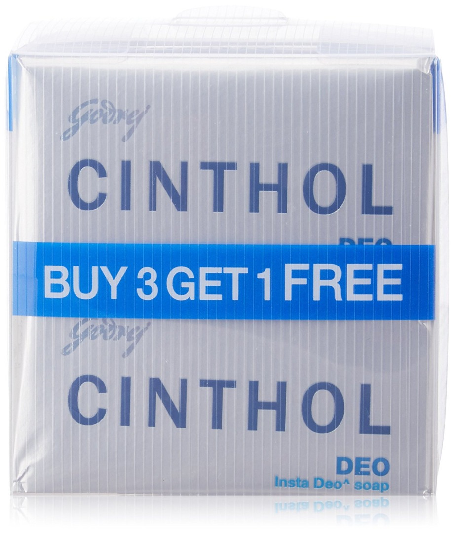 Cinthol Deo Soap  125g (Pack of 3)