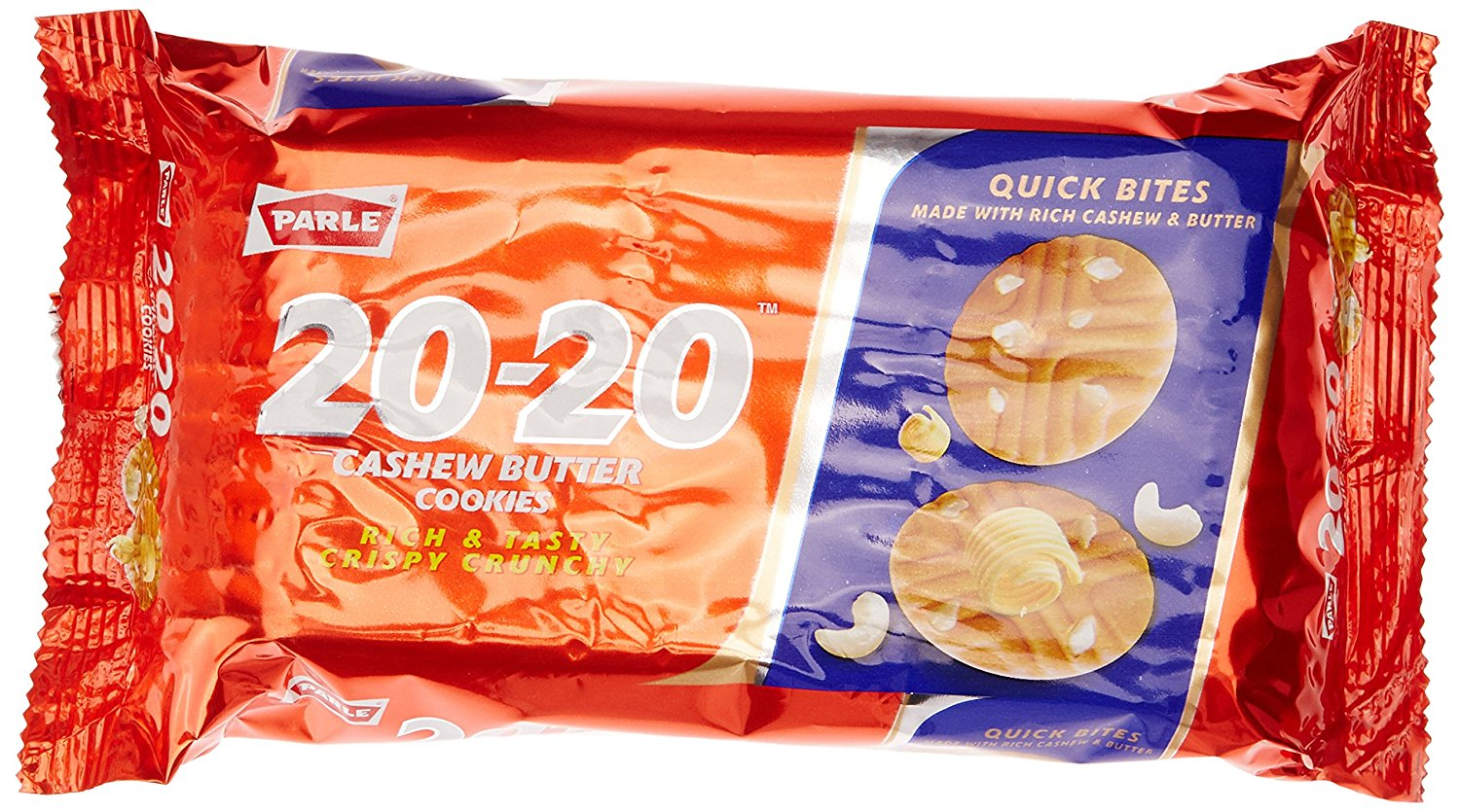 Parle 20 20 Cashew Butter Cookie  200g