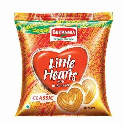 BRITANNIA LITTLE HEART BISCUITS 75 GM