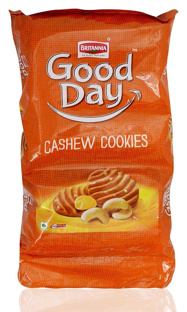 Britannia Good Day Cookies - Cashew  600g Pouch