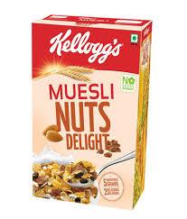 KELLOGGS MUSELI NUT &DELI500G