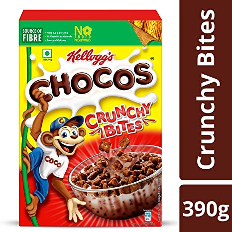 KELLOGGS CHO CRUNCHY BITE 390