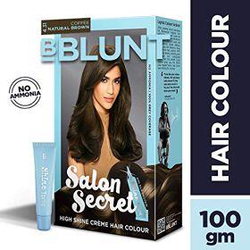BBLUNT Salon Secret High Shine Creme Hair Colour  Natural Brown 4.31  100g