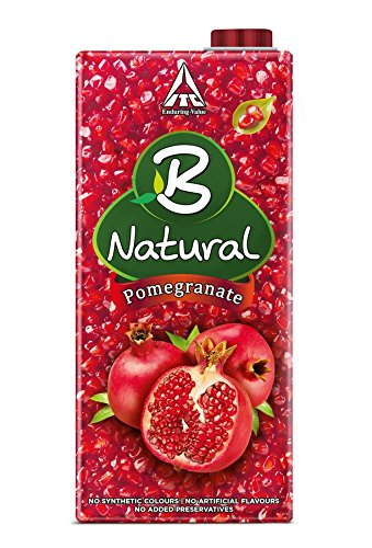 B Natural 100% Pomegranate Juice 1ltr