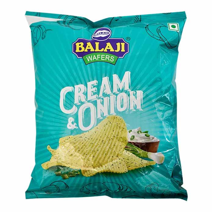 BALAJI CREAM N ONION WFR 135G