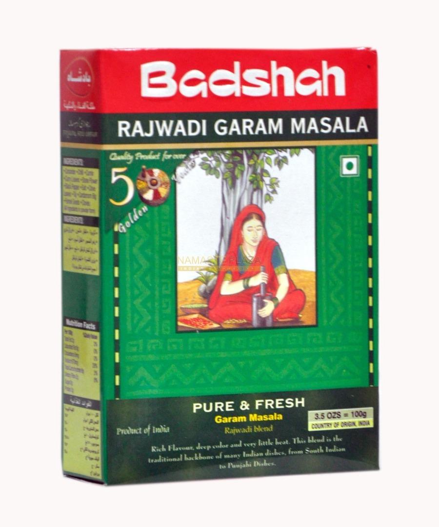 BADSHAH RAJ.GARAM MASALA 100G