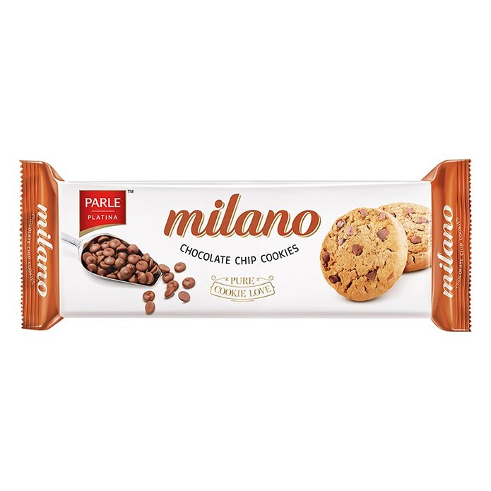 PARLE MILANO CHOCOLA CHIPS 75