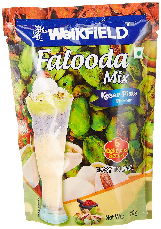 Weikfield Falooda Mix  Kesar Pista  200g