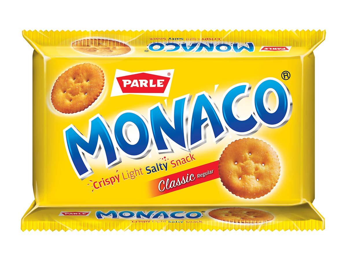 Parle Monaco Crispy Light Salty Snack Classic Regular, 300g