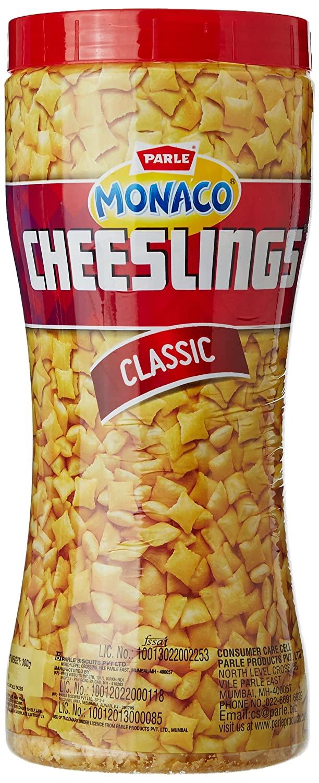 Parle Monaco Cheeslings, Classic 300g