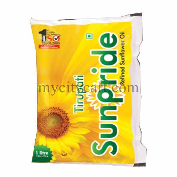 TIRUPATI SUNFLOWER OIL 1LTR