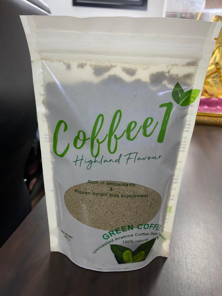 COFFEE1 GREEN COFFEE POWDER 200GM