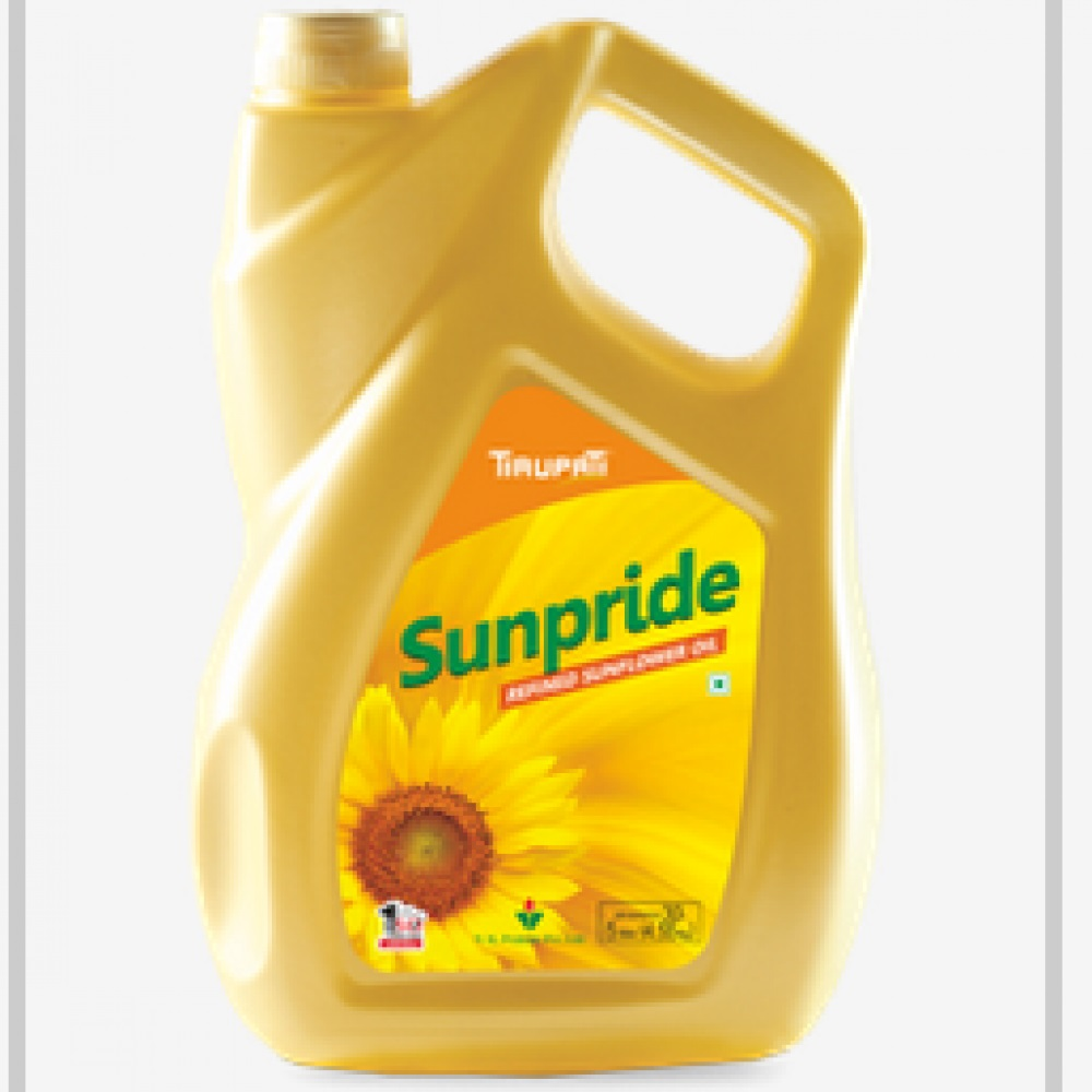 TIRUPATI SUNFLOWER OIL 5LTR