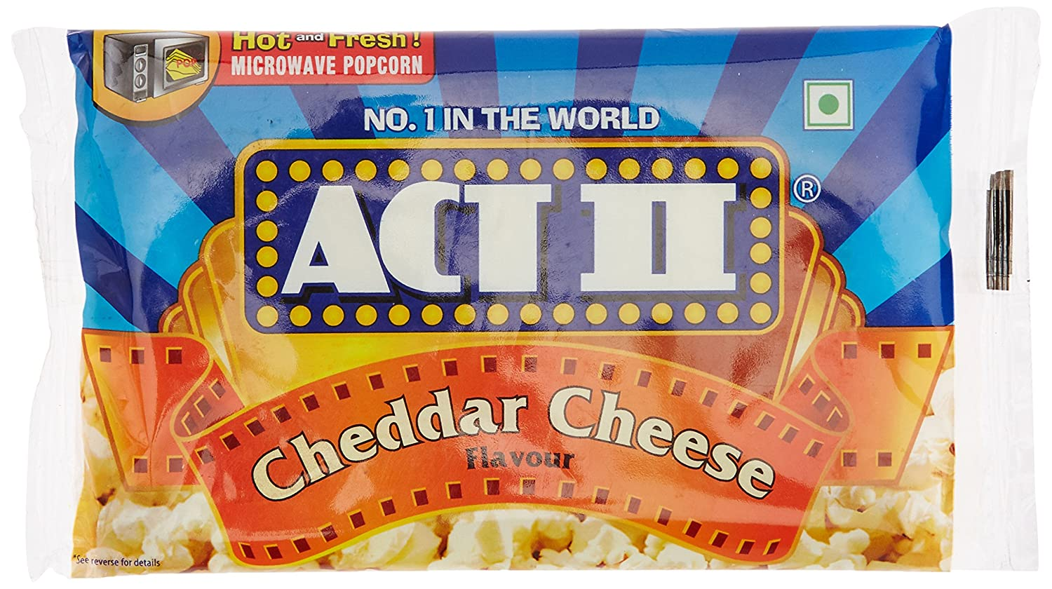 ACT II MWPC Cheddar Cheese, 99g