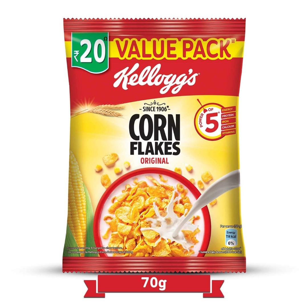 Kellogg's Corn Flakes Original, 70g