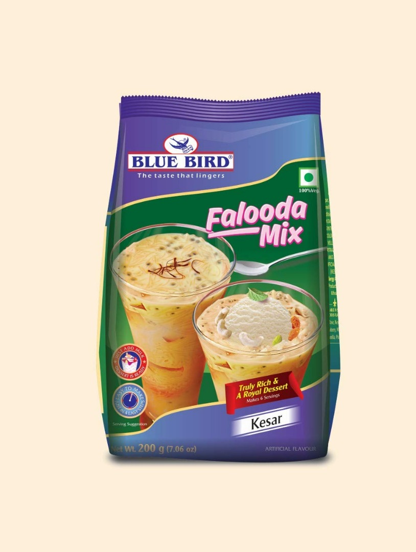 Blue Bird Falooda Mix, Kesar, 200g
