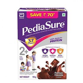 Pediasure Premium Chocolate Refill Pack, 750gm