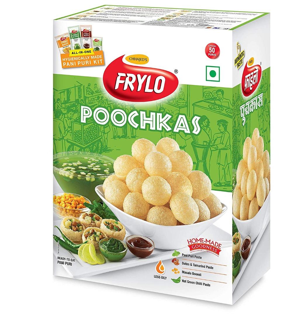 Frylo Multigrain Poochkas Panipuri Kit (All in One)