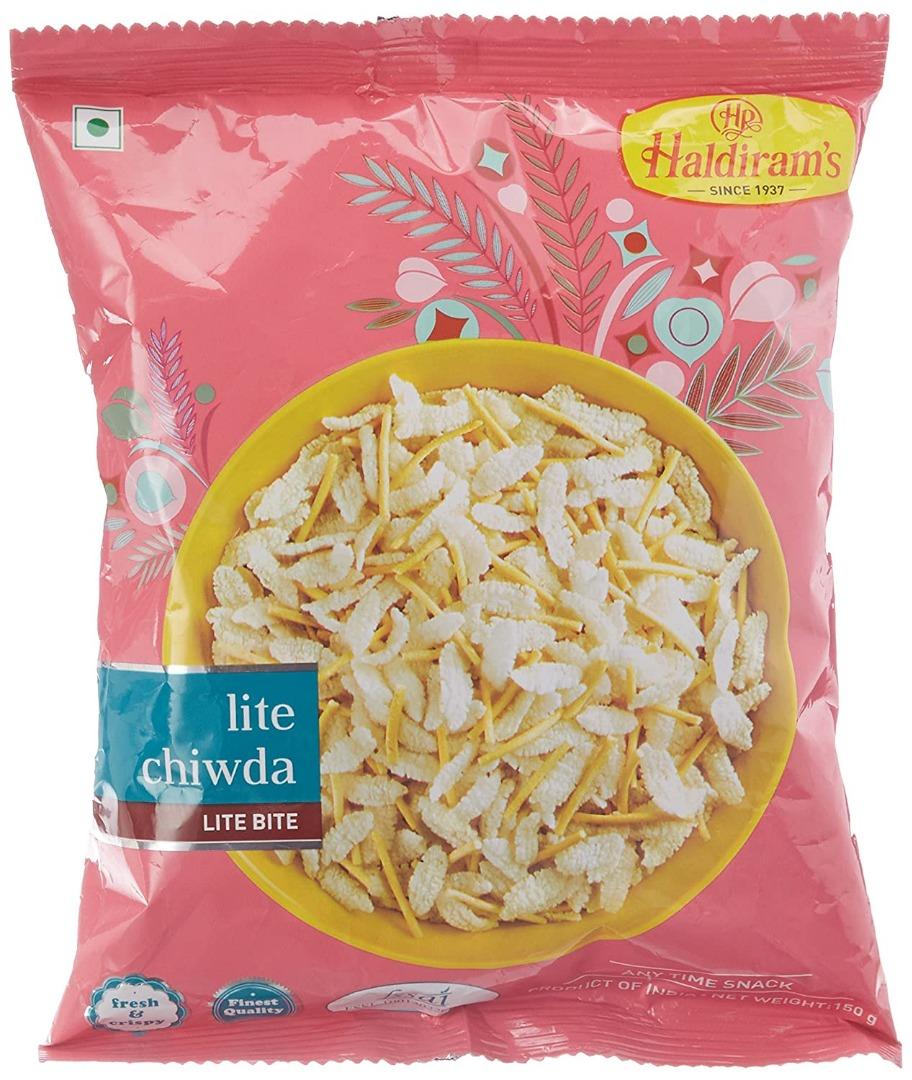 Haldiram's Nagpur Lite Chiwda, 150g