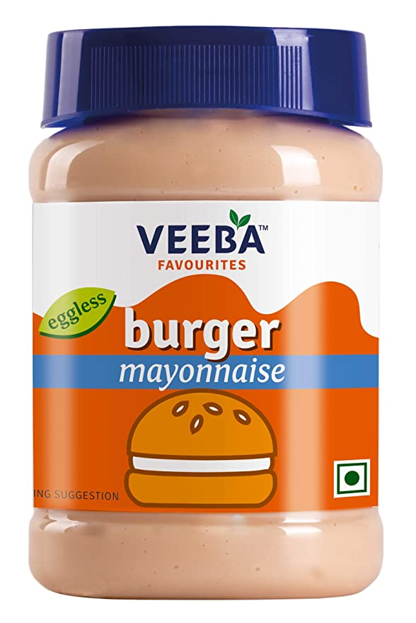 VEEBA MAYONNAIS BURGER 275GM