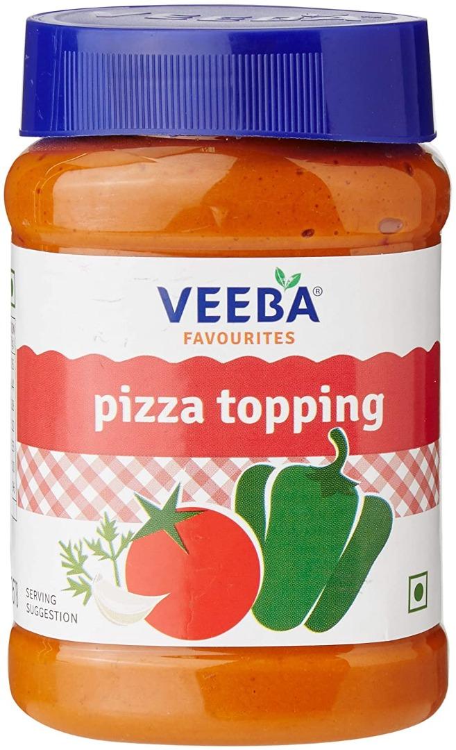Veeba Pizza Topping 310GM