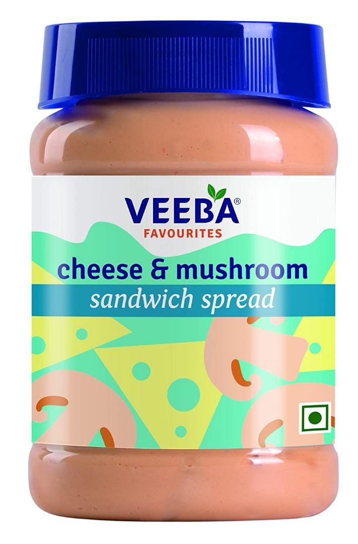 Veeba Cheese and Mushroom Sandwich Spread, 280g