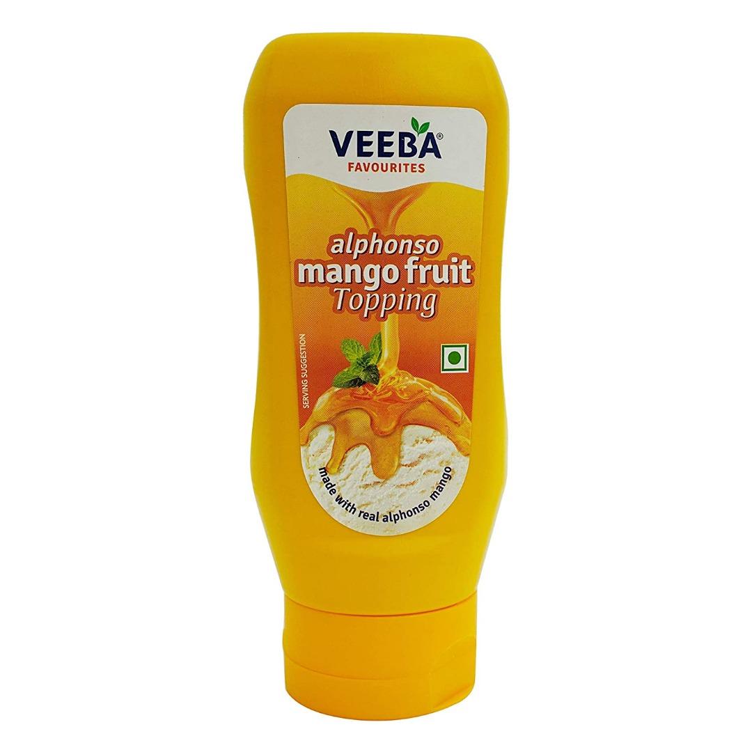 Veeba Alphonso Mango Fruit Topping 380 GM