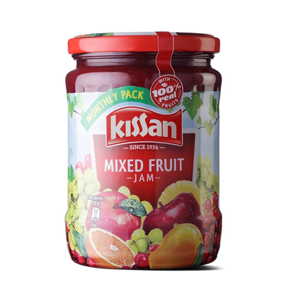Kissan Mixed Fruit Jam Jar, 700g