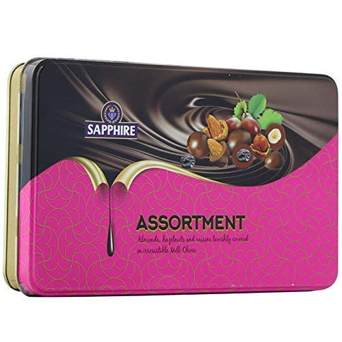 Sapphire Chocolate Coated Nuts Assorted, 175g