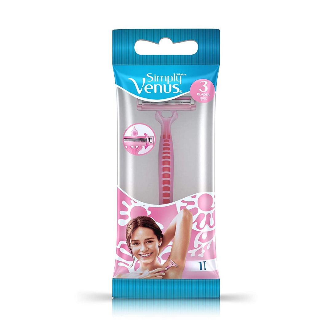 Gillette Simply Venus Pink Hair Removal Razors for Women