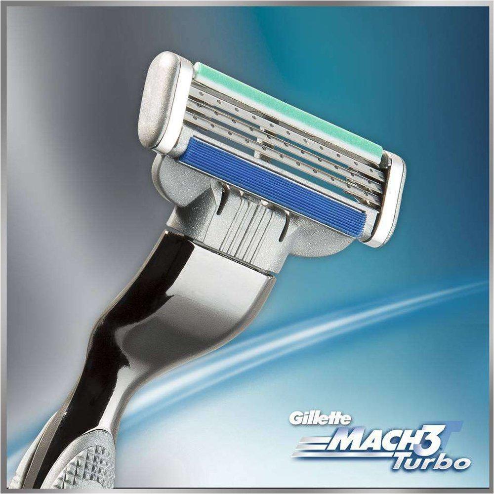 Gillette Mach 3 Turbo Manual Shaving Razor