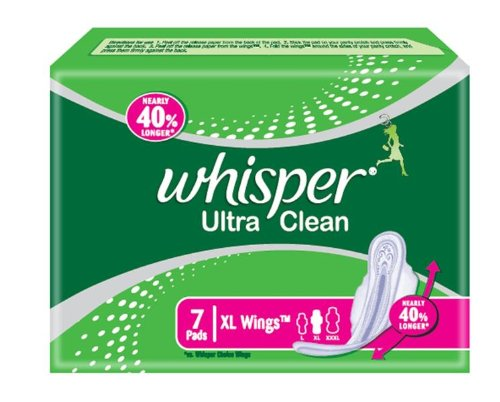 Whisper XL Wings Ultra Clean - 7 Pads