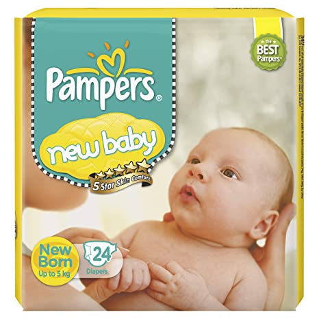 PAMPERS NEW BABY 24PCS