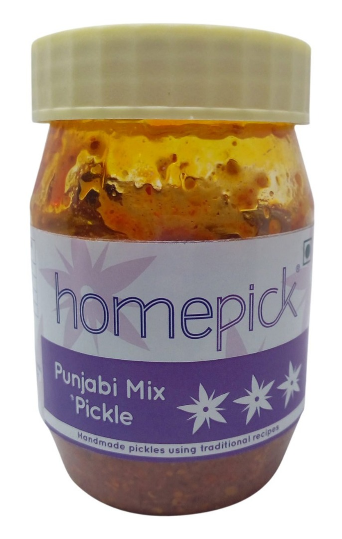 Homepick Pickle - Punjabi Mix, 250g Jar