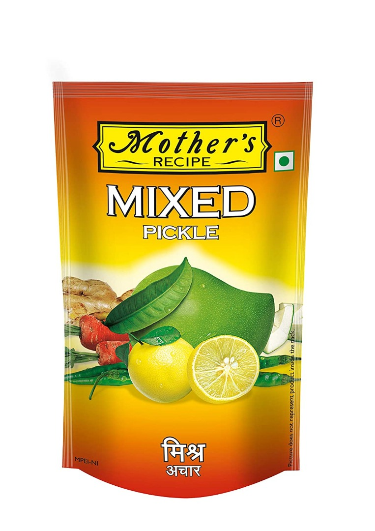 Mother's Recipe Pickle - Mixed, 200g