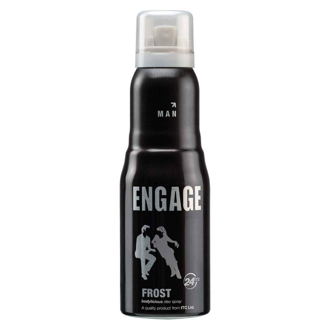 Engage New Metal Range Frost Deodorant Spray For Men, 150ml