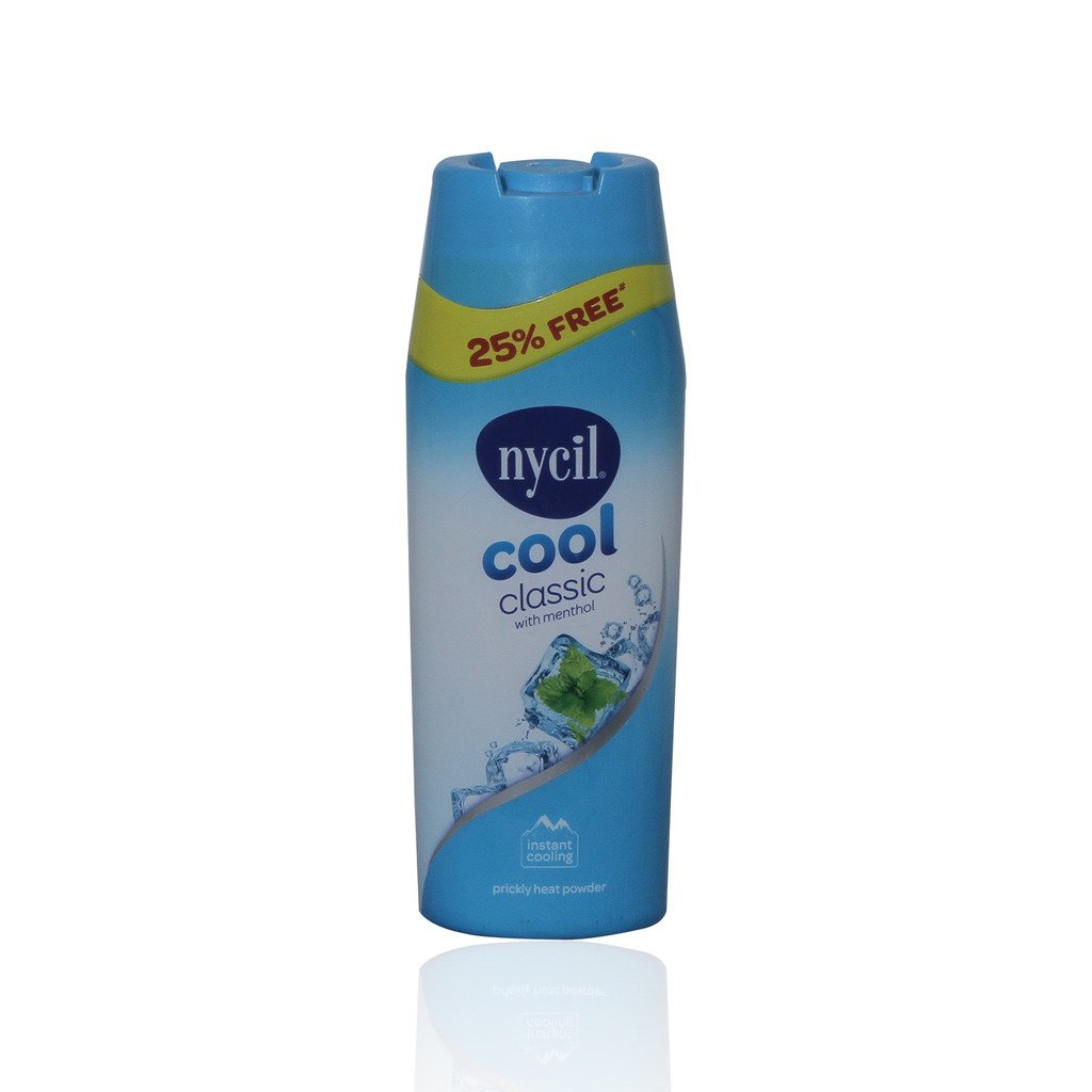 Nycil Talc - Cool Classic, 150g Bottle