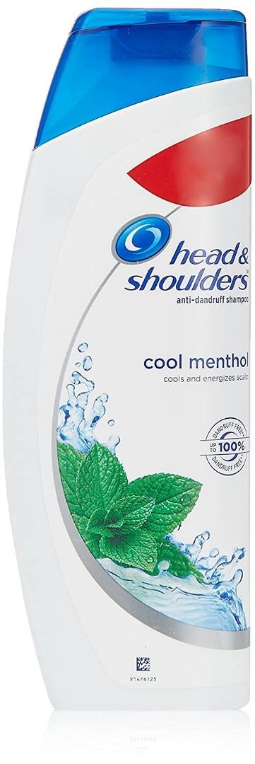 Head & Shoulders Cool Menthol Shampoo, 360ml