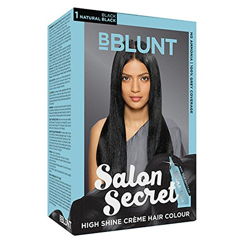 BBLUNT Salon Secret High Shine CreMe Hair Colour (Natural Black: 1) 100 Gm