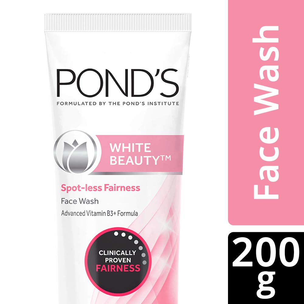 Pond's White Beauty Spot Less Fairness Face Wash, 200g