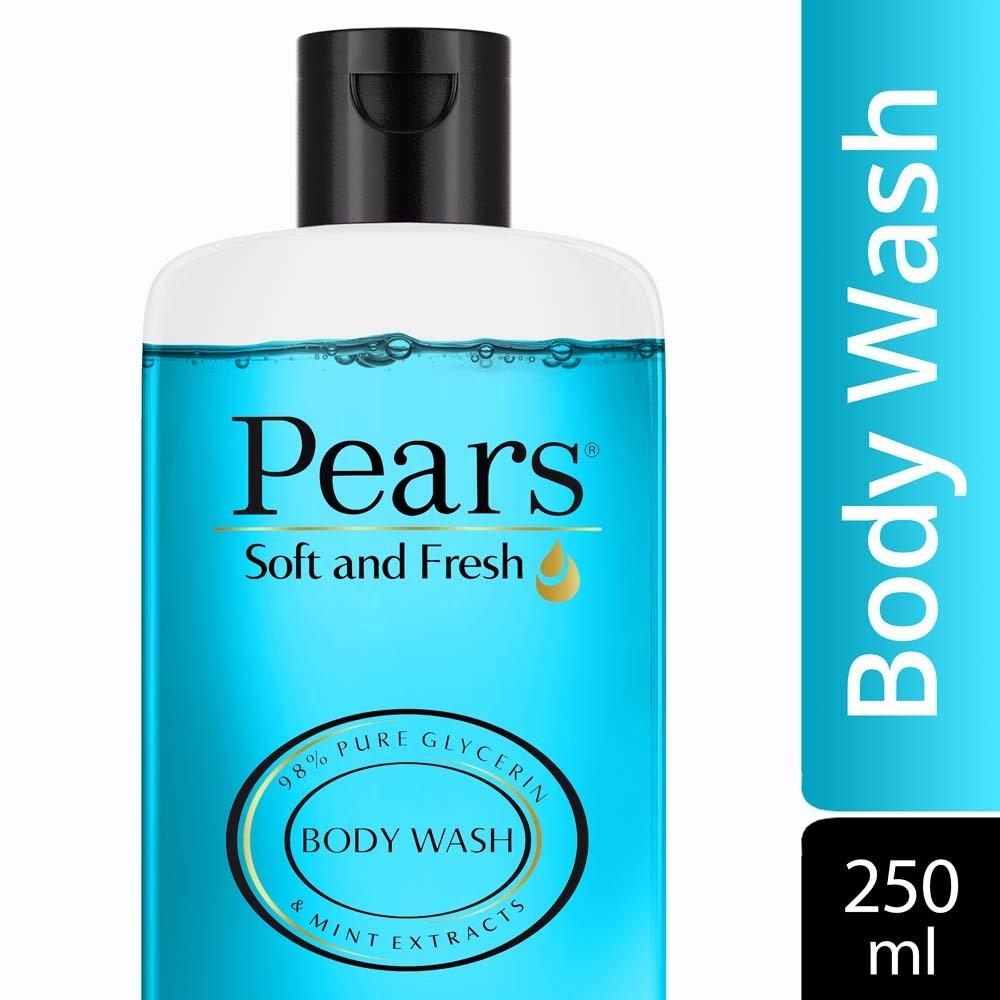 Pears Soft and Fresh Shower Gel, 250ml