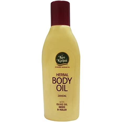 Keo Karpin Body Oil - Sandal, 100ml Bottle