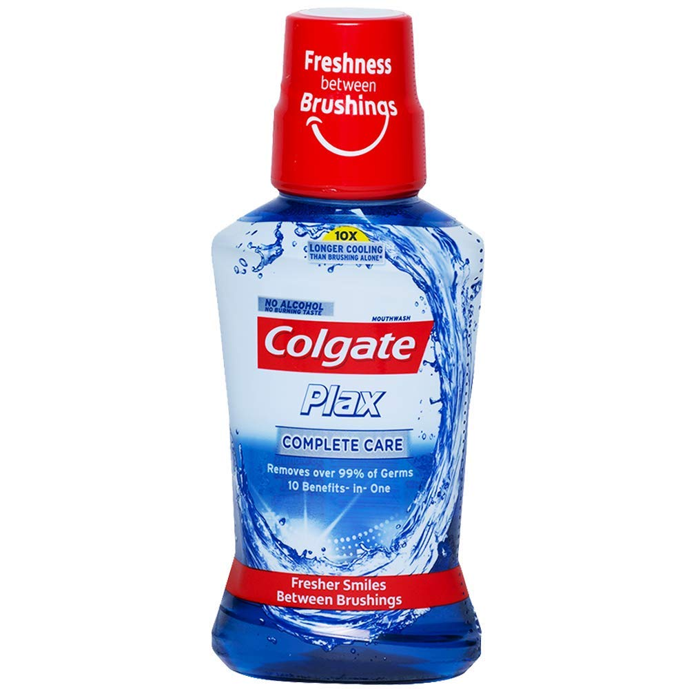 Colgate Plax Mouthwash - 250ml (Complete Care)