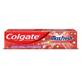 Colgate MaxFresh Toothpaste, Red Gel Paste with Menthol for Super Fresh Breath, 150g (Spicy Fresh)