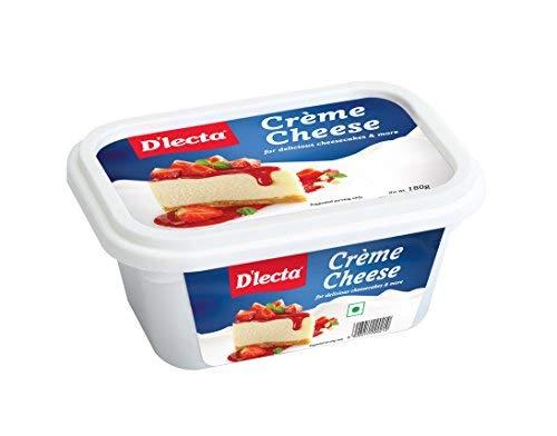 Dlecta Cream Cheese Jar, 180 g