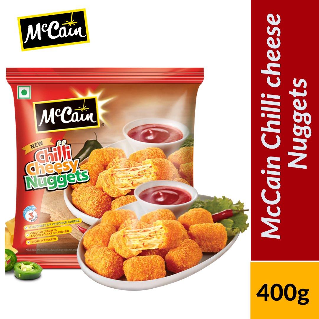 MCCAN CHILLI CHEESY NUGG 400G