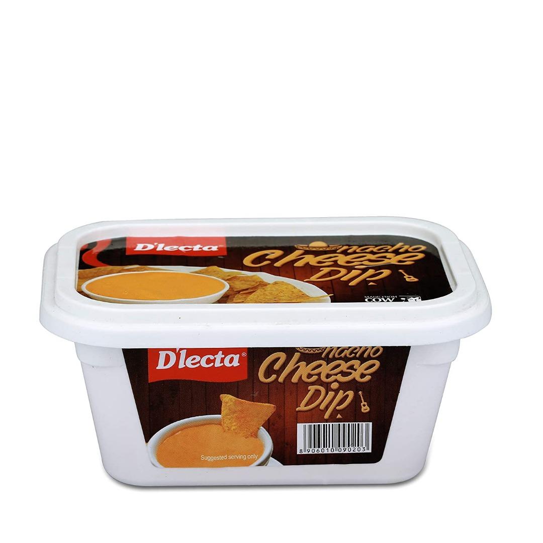 Dlecta Dip, Nacho Cheese Jar 200 GM