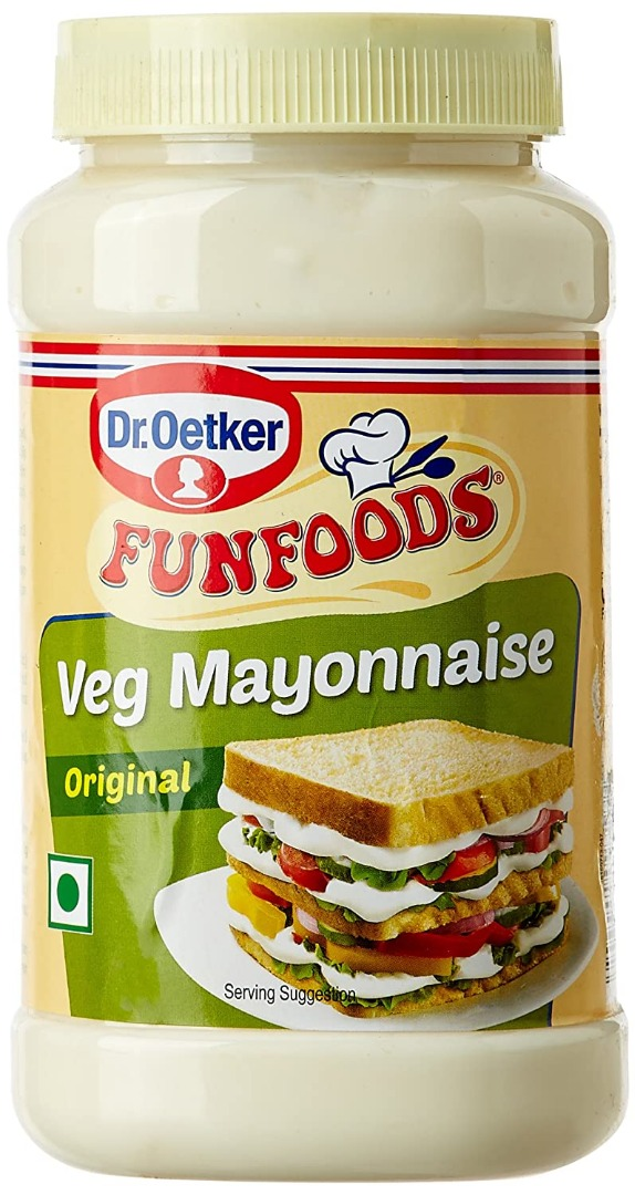 Funfoods Veg Mayonnaise Eggless, 750g